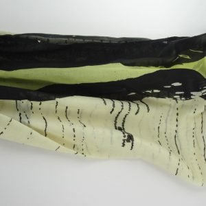 Stoles – Green Black Printed Polyester