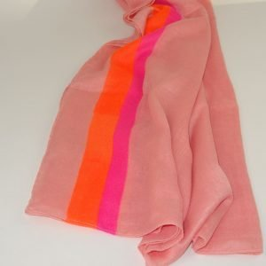 Stoles – Coral with Stripes