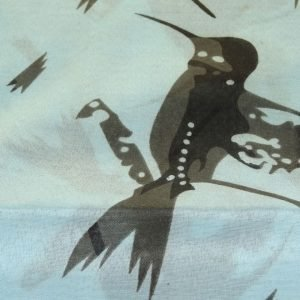 Stoles – Blue w/ Black Bird