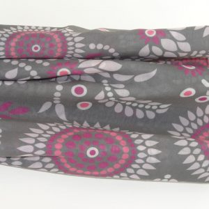 Stoles – Grey Pink Floral Print