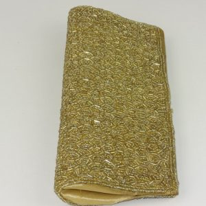 Gold beads – clutch…dressy