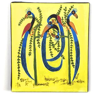 Animal Bird Tingatinga Painting