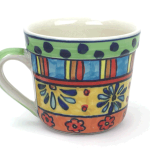 Coffee Tea Mug – Hand Painted